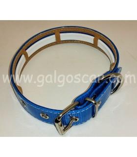 Collar perro biothane varios colores con funda para collar antiparasitos