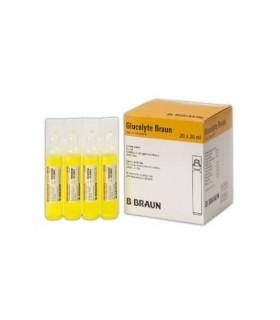 Glucolite braum, ampollas. Electrolitos