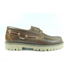Zapato naútico cordones Timber