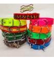 Collar biothane/polithane. Ancho 25mm. varios colores y medidas. Opción de personalizar
