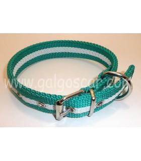 Collar  nylon doble 25mm largo 45cm c/ Andalucia