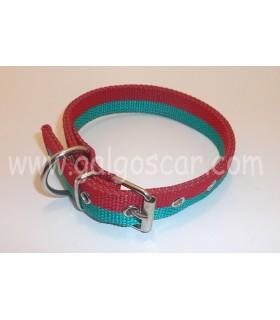 Collar  nylon doble 25mm largo 45cm c/ Portugal