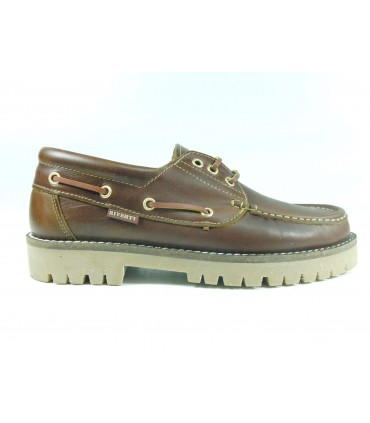 Zapato naútico cordones Timber